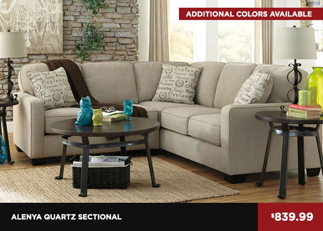 Alenya Quartz Sectional